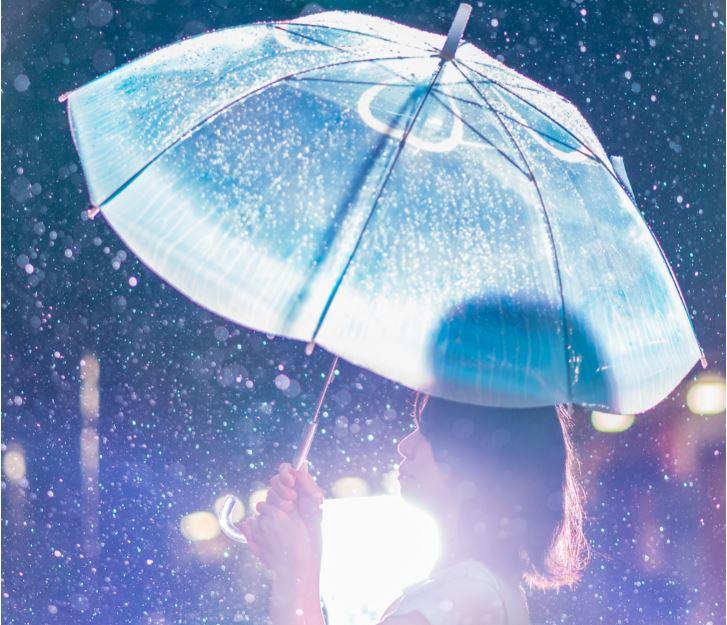 雨空を泳ぐクラゲの傘フォトコンテスト 結果発表